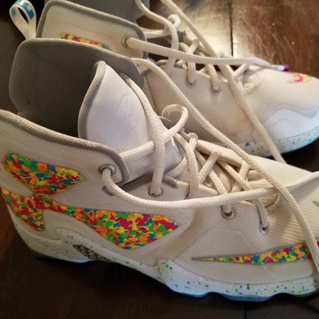 052ddf7a923 Find more Nike Lebron James 13 Fruity Pebbles for sale at up to 90% off