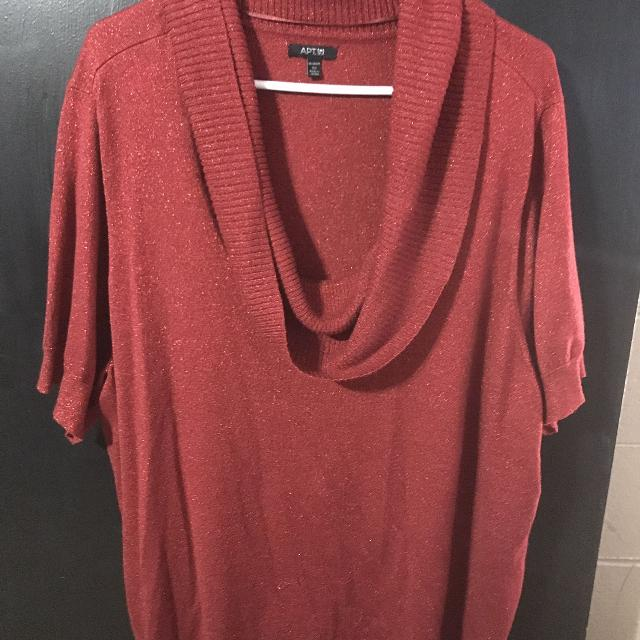 935864e7 Best Red Short Sleeve Sparkly Sweater 3x for sale in Peoria, Illinois for  2019