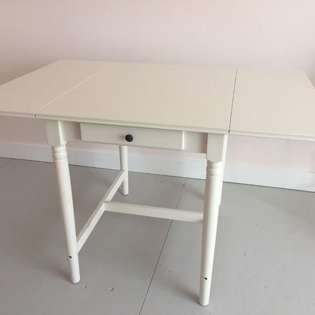 Find More Ikea Ingatorp Drop Leaf Table For Sale At Up To 90 Off