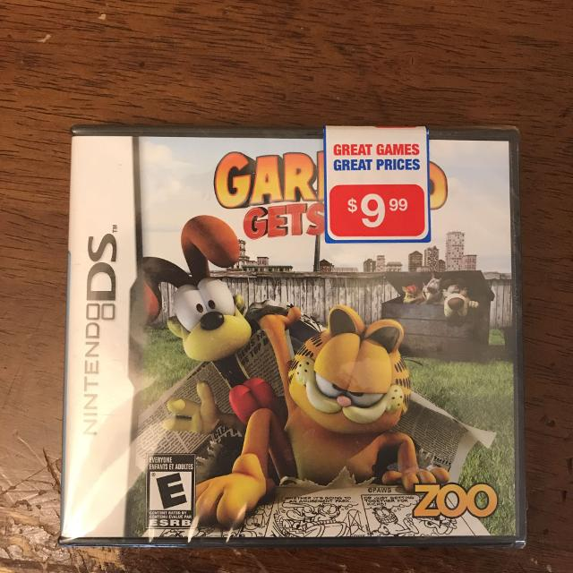 Find More Garfield Gets Real Ds Game For Sale At Up To 90 Off