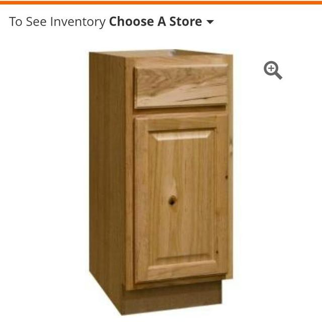 Best Hampton Bay Hampton Assembled Kitchen Cabinet In ...