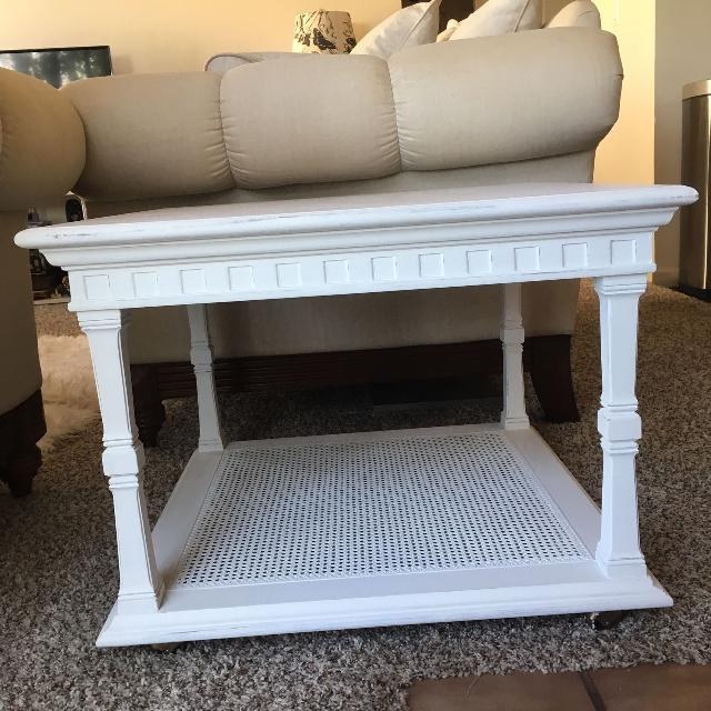 White Coffee Table Shabby Chic