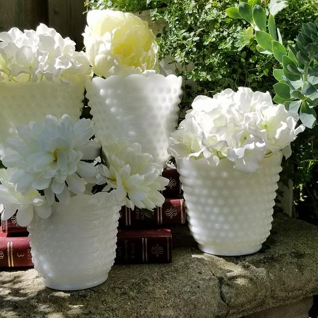 Find More Vintage Milk Glass Vaseswedding Centerpieces For Sale At