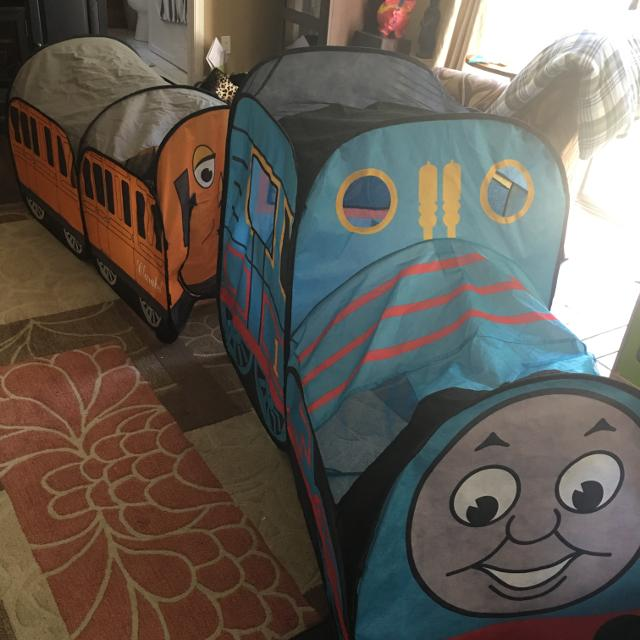Thomas & friends outdoor play tents, tunnels & playhuts | ebay.