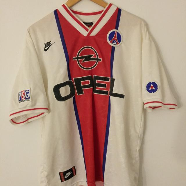 ba03dbb3602ea Best Vintage Paris Saint Germain Psg Football Soccer Jersey Shirt for sale  in Brockton Village
