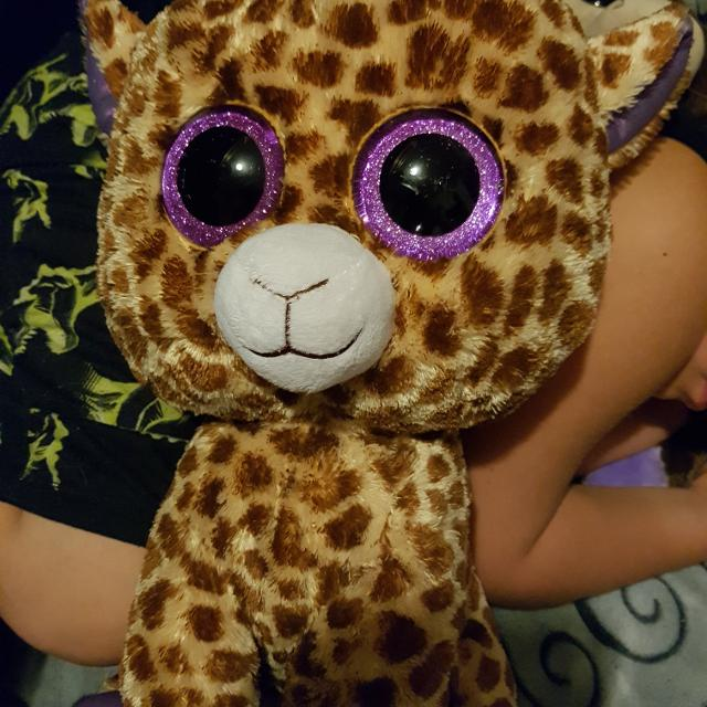 aaec5d8e430 Find more Jumbo Ty Beanie Boo Safari The Giraffe for sale at up to ...
