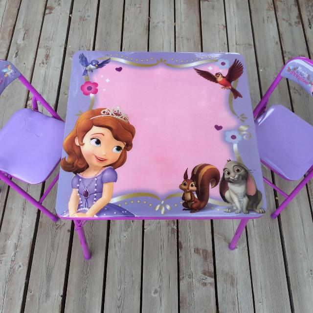 Find More Sofia The First Table Set For Sale At Up To 90 Off