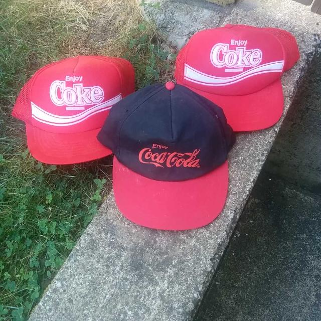 Find more Coca Cola Ball Caps. Price Is For Each. for sale at up to ... c36d1d9cc99