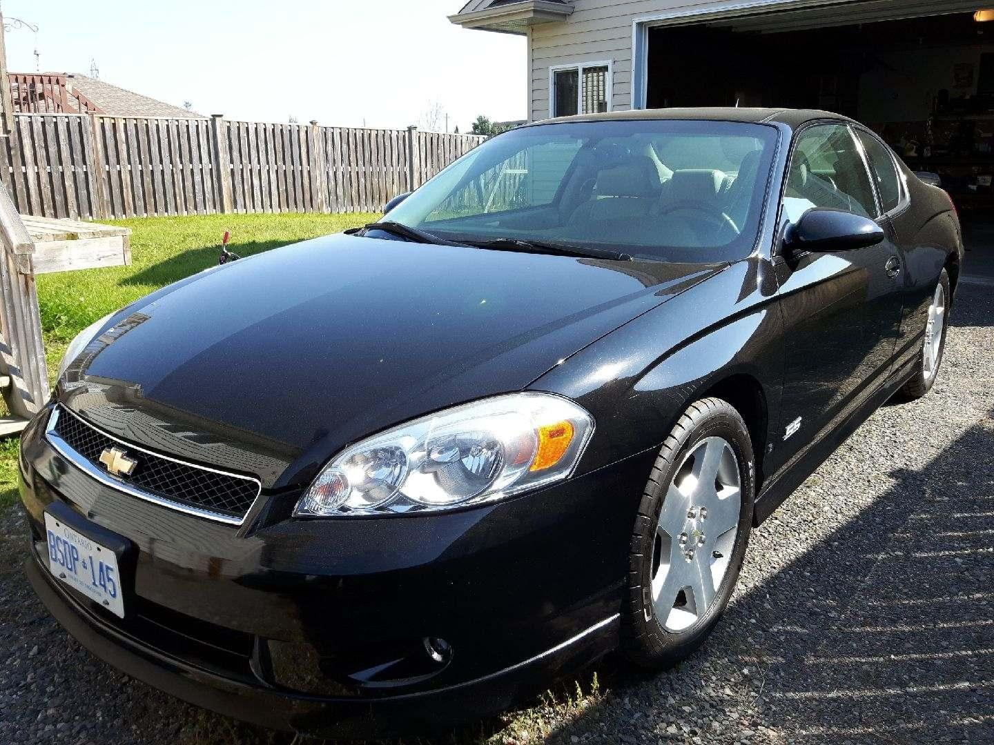 Best 2007 Monte Carlo Ss for sale in Thunder Bay, Ontario
