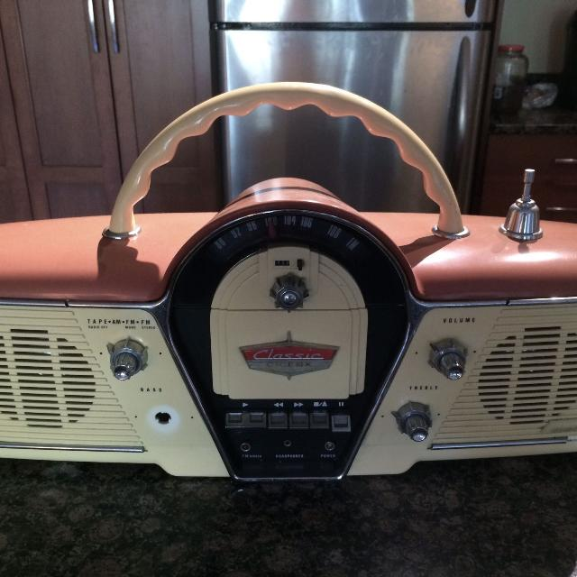 Classic cicena am/fm transmitter radio