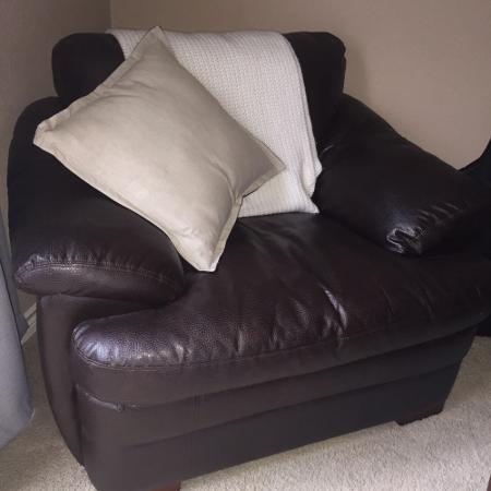 3 Piece Faux Leather Living Room Set REDUCED