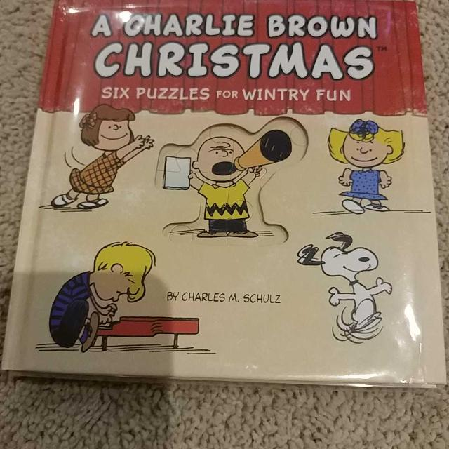 Best Charlie Brown Christmas Puzzle Book By Hallmark for sale in Clarington, Ontario for 2019
