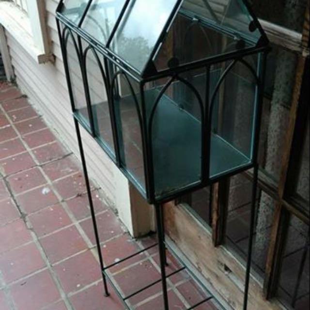 Find More Large Stand Terrarium Gothic Style Wardian Case Cp For