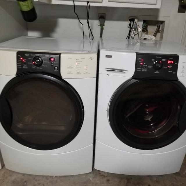 Kenmore Elite He3 Washer And Dryer