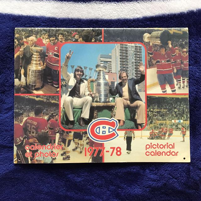 find more montreal canadiens 1977 78 pictorial calendar for sale at