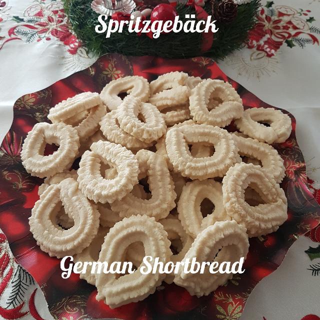 Homemade German Spritzgeback Shortbread Cookies