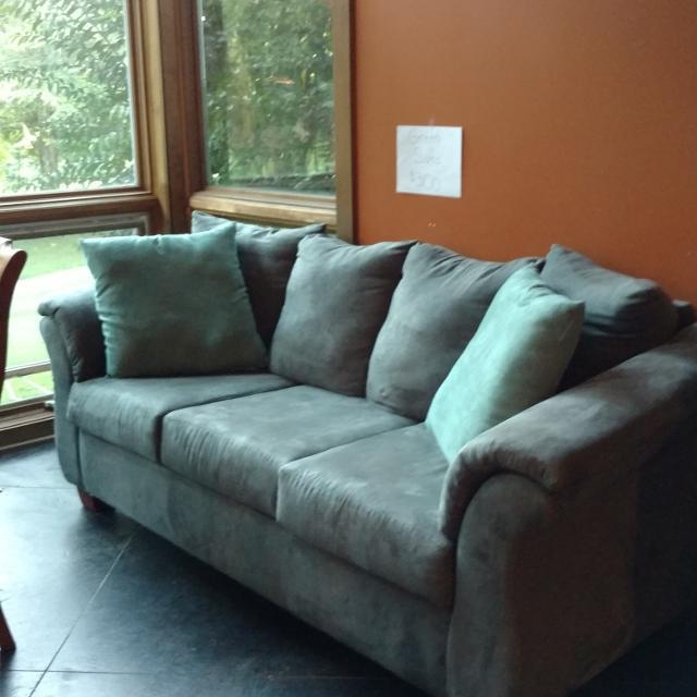 Best Sage Green Microfiber Sofa For In Germantown Tennessee 2019