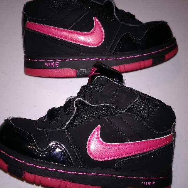 Best Baby Girls Nike Blk pink Tennis Shoes Size 7c for sale in Washington ea467c4bc