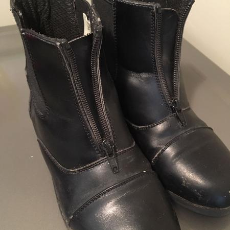 Black Paddock Boots size 4 for sale  Canada