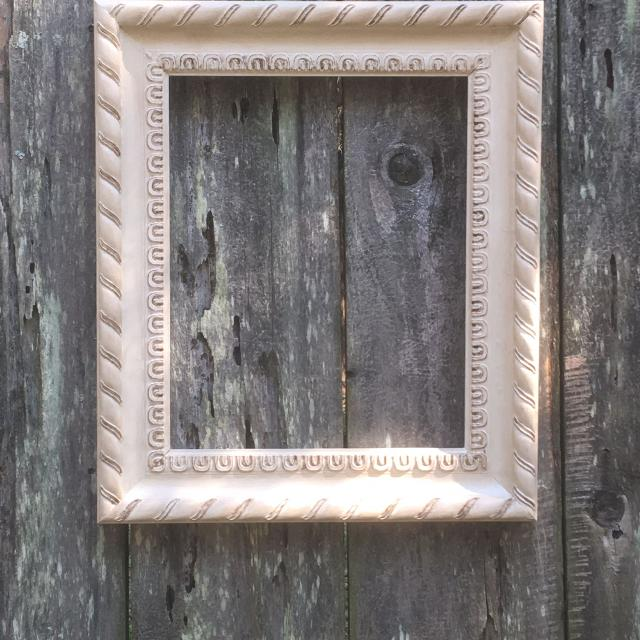 Best Sand Hand Painted Open Back Wood Frame for sale in Germantown ...