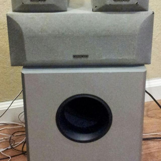 Set sound up surround onkyo AV Receiver