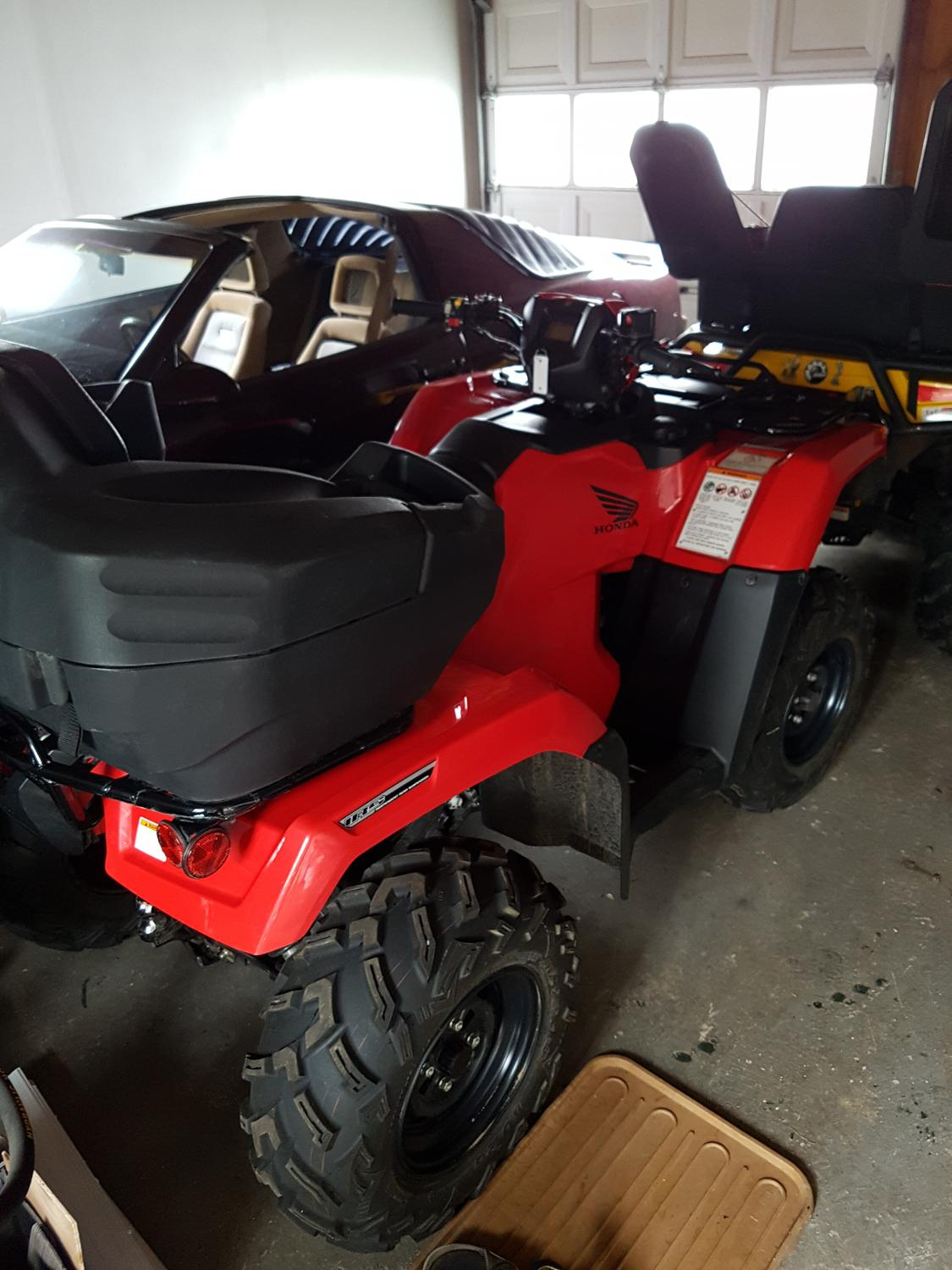 best 2016 honda rubicon irs 500 for sale in barrie. Black Bedroom Furniture Sets. Home Design Ideas