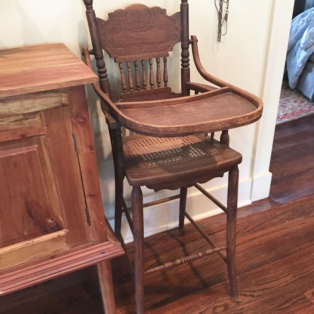 Antique High Chair - Best Antique High Chair For Sale In Baton Rouge, Louisiana For 2018