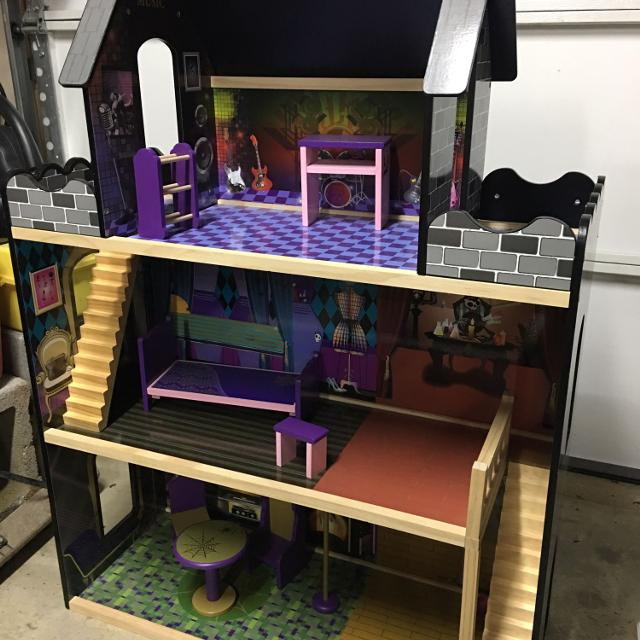 Find More Monster High Barbie Wood Doll House For Sale At Up To 90 Off