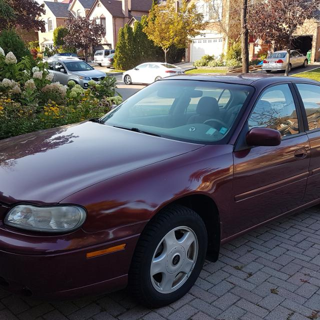 Chevy Malibu 2001, 4dr sedan with V6 engine