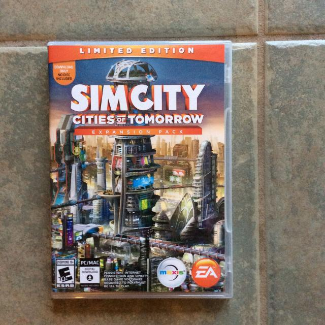 simcity cities of tomorrow expansion pack