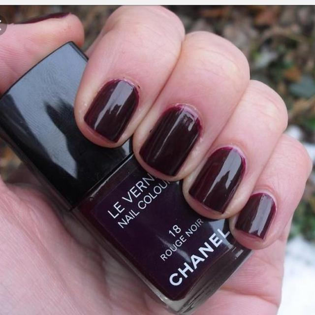 Find more Chanel Nail Polish No. 18 Rouge Noir for sale at up to 90% off