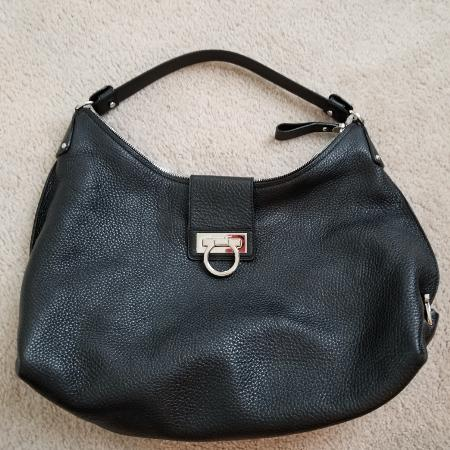 4f71dc50950b Excellent condition Salvatore ferragamo black leather hobo  Ashburn pick  up  guarantee authentic   800