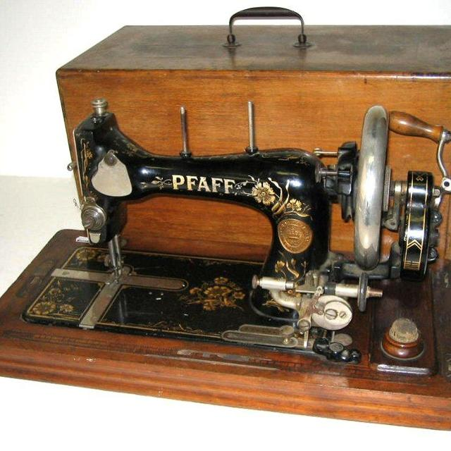 Find More Pfaff Model B Hand Crank Sewing Machine For Sale At Up To Unique Hand Crank Sewing Machines For Sale