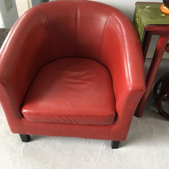 Single Sofa Chair Sale: Find More Red Single Sofa Chair Reduced For Sale At Up To