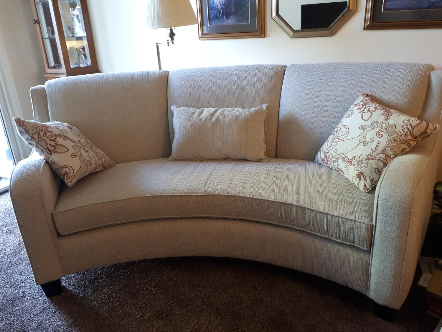 Find More Curved Fabric Sofa For Sale At Up To 90 Off