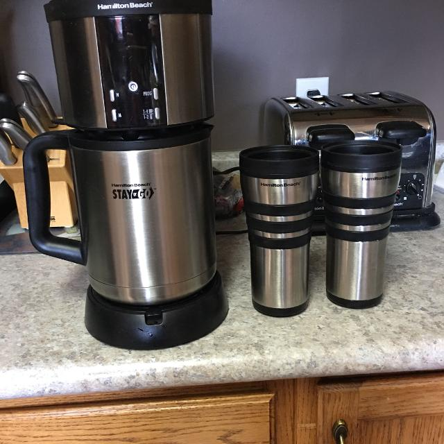 Hamilton Beach Stay Or Go Coffee Maker