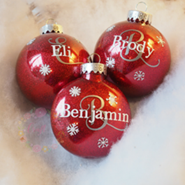Personalized Christmas Ornament.Personalized Christmas Ornaments