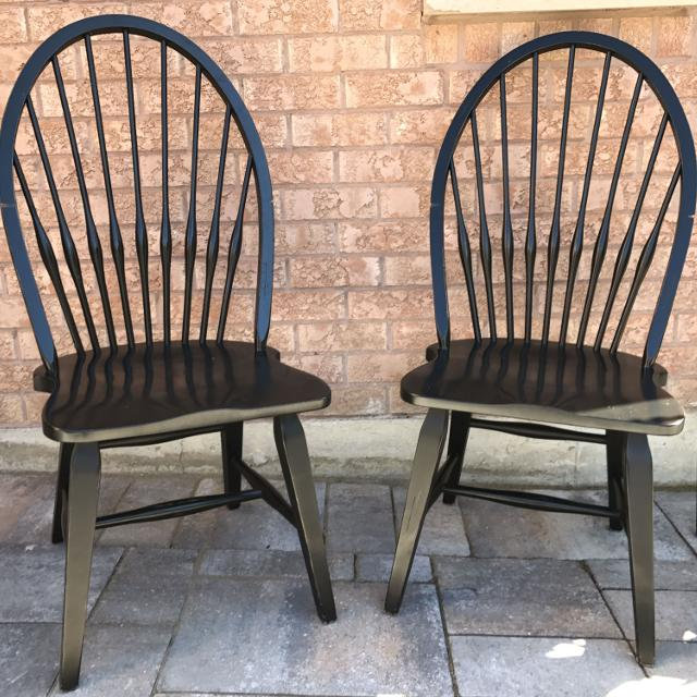 Find More Black Windsor Style Dining Chairs For Sale At Up