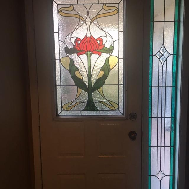 Best Front Door Glass Insert Stained Glass For Sale In Oshawa
