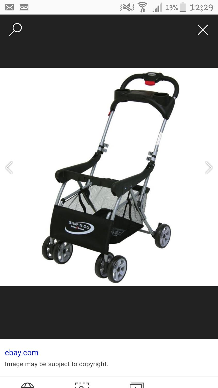 Best Snap N Go Infant Car Seat Buggy/stroller for sale in ...