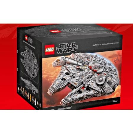 Used, Lego UCS Millennium Falcon 75192 with... for sale  Canada