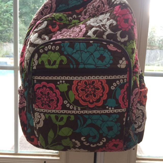 538f87ba653f Find more Vera Bradley Campus Tech Backpack for sale at up to 90% off