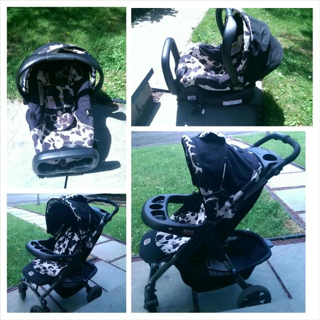 Britax Cowmooflage Stroller Infant Seat
