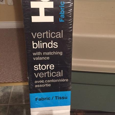 Vertical Fabric Blinds - 76 inches by... for sale  Canada