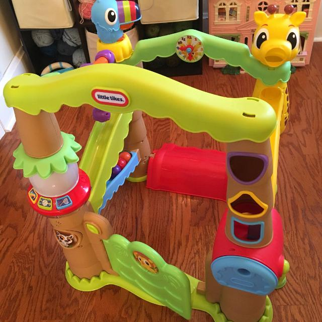 a0714384a6d5 Find more Little Tikes Jungle Activity Center for sale at up to 90% off