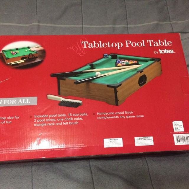 Best Tabletop Pool Table For Sale In Las Cruces New Mexico For - Tabletop pool table full size