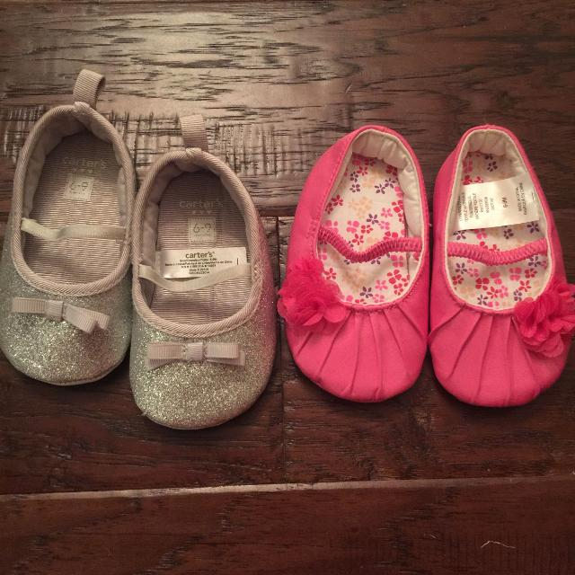 3de20970906 Find more Sz 6-9 Months Carters Baby Girl Shoes for sale at up to 90 ...