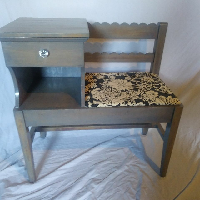 Antique gossip bench/telephone chair - Best Antique Gossip Bench/telephone Chair For Sale In Ringgold