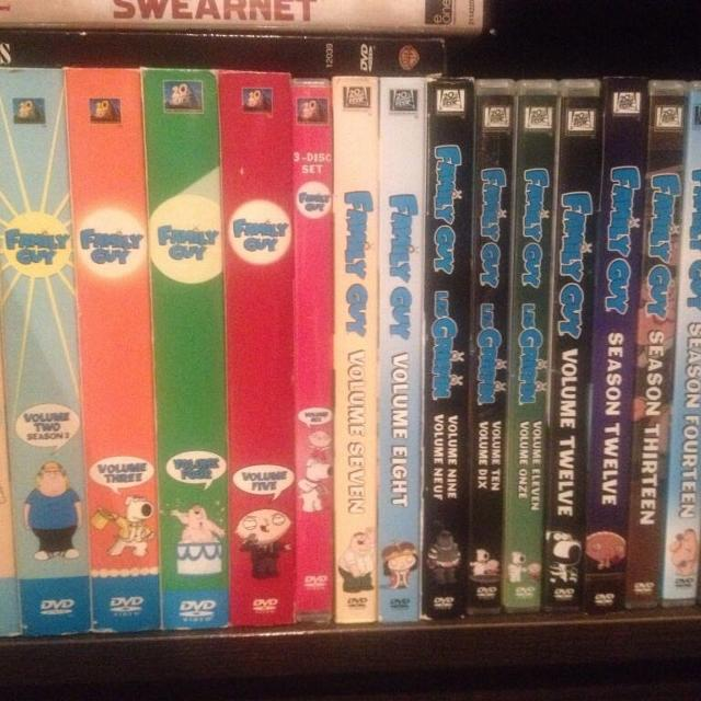 Complete family guy DVD series 1-16 plus Star Wars box set and 2 bounds DVDS