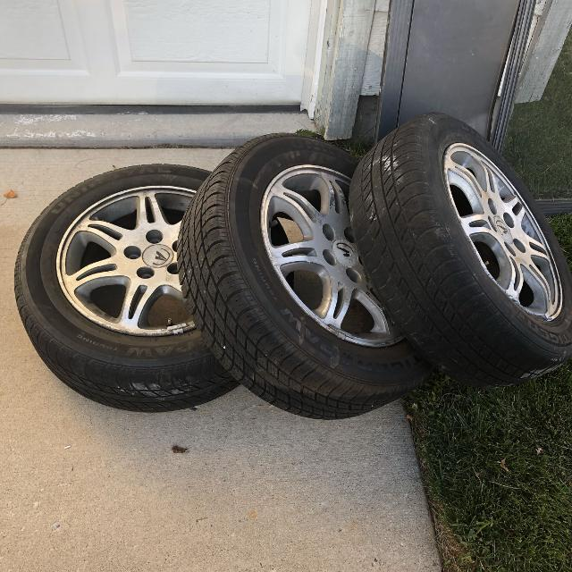 property l room acura wheels with inch tires